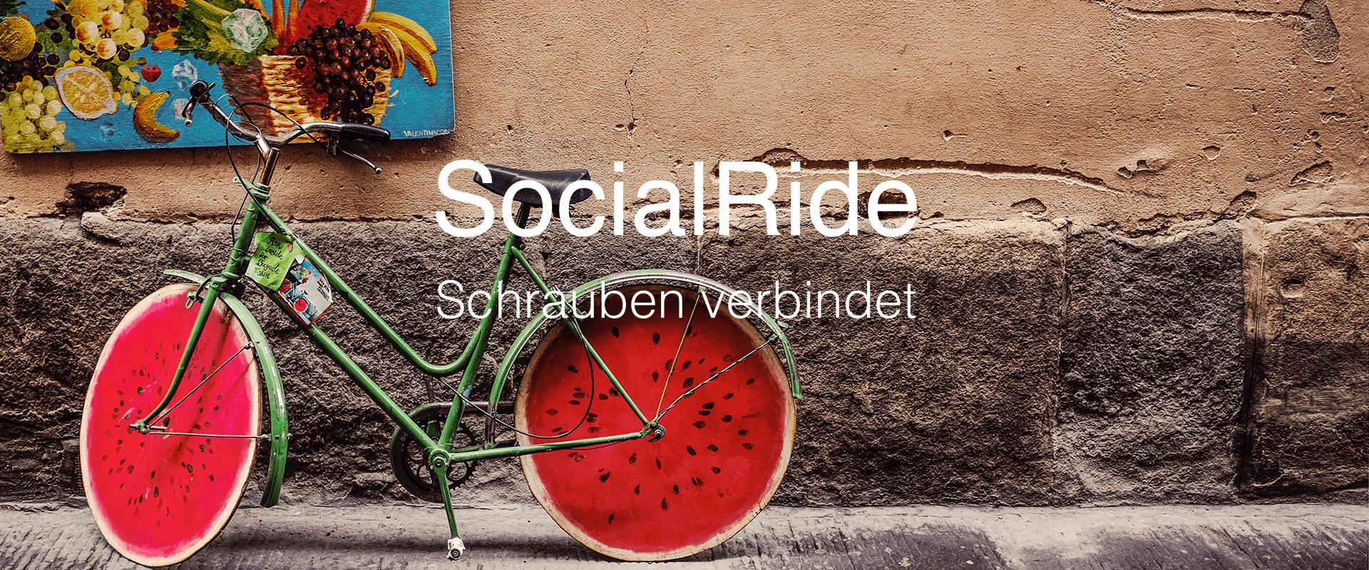 Social Ride, die soziale Fahrradwerkstatt