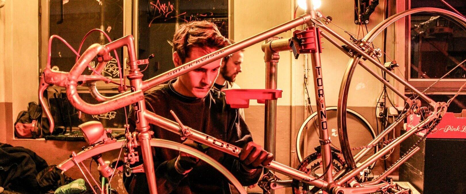 Fahrradreparatur Workshops